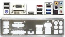 ATX pannello I/O Shield ASROCK b85m-itx #690 io SCHIELD nuovo Bracket Backplate NEW
