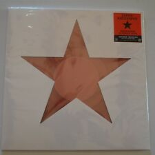 "DAVID BOWIE - BLACKSTAR - 2017 JAPAN EXCLUSIVE 12"" 3-TRACKS RED COLOR VINYL"