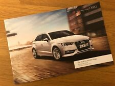 Audi A3 and S3 Accessories Brochure 2013 MINT CONDITION