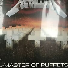 METALLICA - MASTER OF PUPPETS - New and Sealed Vinyl lp
