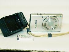 Canon PowerShot ELPH 180 20 MP Compact Digital Camera 8X Zoom - Silver