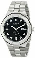 "Bulova Men's 98D103 ""Marine Star"" Diamond Accented Stainless Steel Watch"
