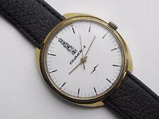 Rare watch Brand VIMPEL RAKETA mov gold-plated case Cal 2609 HA