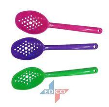 Edco 3pc Straining Spoon Set 17.5cm (NEW)
