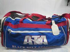Gently Used Ata Black Belt Academy Taekwondo Sparring Gear Carrying Gym Bag