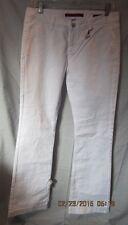 BANANA REPUBLIC WHITE LIMITED EDITION FLARE LEG JEANS SZ 28/6 NWTGS $119 RETAIL