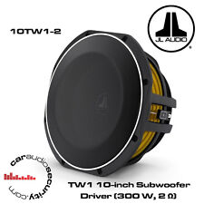 "JL Audio 10tw1-2 - 12"" 300 WATT Shallow Subwoofer Subwoofer Bass Mount"