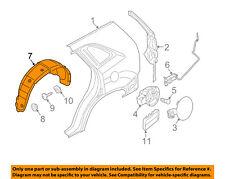 KIA OEM 2011 Sorento Rear-Fender Liner Splash Shield Left 868301U000