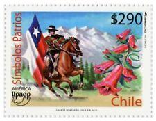 Chile 2010 #2438 America UPAEP serie SImbolos Patrios MNH