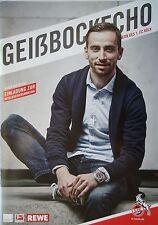 Programm 2014/15 1. FC Köln - Borussia Dortmund