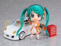 "Anime Hatsune Miku Racing Miku 4"" PVC Action Figure Model Toy In Box Great Gift"