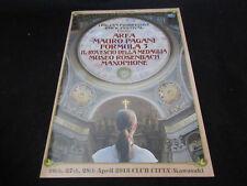 Italian Progressive Festival Japan Tour Book Area Mauro Pagani Formula 3 Museo