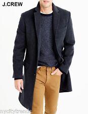 New J.CREW 40R Thinsulate Ludlow wool-cashmere coat topcoat overcoat grey M 40 R