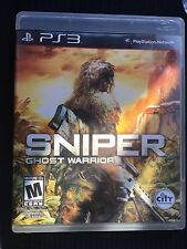Sniper: Ghost Warrior (Sony PlayStation 3, 2011) Complete
