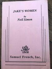 Jakes Women By Neil Simon, Samuel French, inc.1993