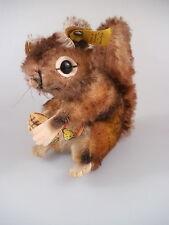 Steiff Eichhörnchen Perri 2040/17 - komplett mit KFS - 60er Jahre (260)