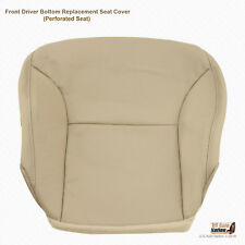 Driver Bottom TAN Perforated Leather Seat Cover For 2002 2003 Lexus ES300 ES330