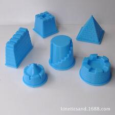 Motion Sand Building Random Color Castle Mold Modeling Toy, 6 Pack