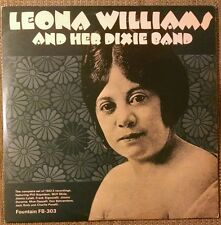 Leona Williams and Her Dixie Band LP Jimmy Durante~1922-23 Rec~Blues Jazz~UK