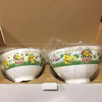Pokemon x Maruchan Collaboration Parent and child bowl Not for sale Rare