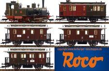 H0 - Roco 61476 ~ AC Märklin Digital Personenzug-Set mit Dampflok T3 + 4 Wagen