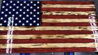 "American Wooden Flag 16"" Rustic Flag. American Flag, US Flag"