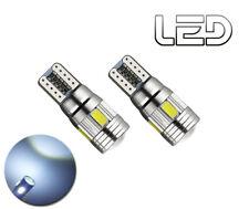 2 Ampoules W5W T10 6 LED veilleuses Position cree Resistance anti erreur ODB