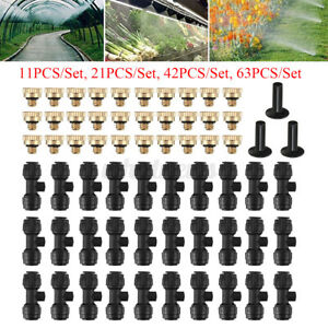Irrigation Misting Nozzles-Kit Patio Cooling System Irrigation Accessories Set