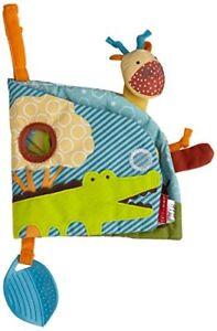 Skip Hop Activity Book, Giraffe Safari Puppet 307417-CO