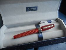 MONTEGRAPPA THE RED SKULL FOUNTAIN PEN SPECIAL EDITION