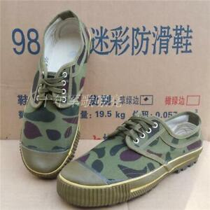 VIETNAM WAR CHINESE ARMY PLA TYPE SOLDIER 1965 COMBAT LIBERATION CAMO SHOE
