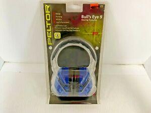 Peltor Bull's Eye 9 blue Shooting Earphone Hearing Protection New Headphones