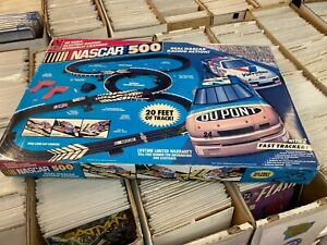 NASCAR 500 slot car racing set LLR HO Scale 1995 SEALED Life Like Racing