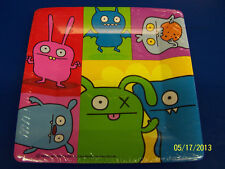 "Uglydoll Ugly Dolls Cartoon Birthday Party Supplies 10.25"" Square Banquet Plates"