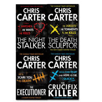 Chris Carter Crime,Thriller & Adventure Collection 4 Books Set,Paperback English