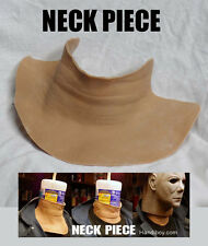 LATEX NECK PIECE for mannequin -michael myers. jason, freddy. mask etc