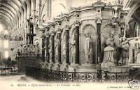 CPA 51 REIMS  église saint remy    le tombeau