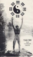 TAI CHI THE ULTIMATE GRACE with david chandler    VHS VIDEOTAPE