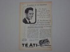 advertising Pubblicità 1959 TE' ATI