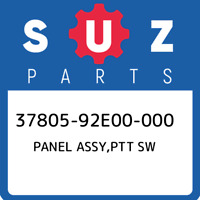 37805-92E00-000 Suzuki Panel assy,ptt sw 3780592E00000, New Genuine OEM Part