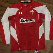Under Armour Gales Wru Jersey 2011 lejos Rugby Camisa Medio chicos BNWT