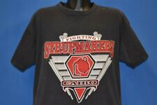 vintage 90s Fighting Syrupmakers Cairo High School Georgia Football t-shirt Xl
