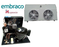 Embraco-condensing-unit with NJ9238GK M/H TEMP+Evap Blower HEA3002234D 3860m³/H