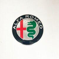 Brand New Alfa Romeo Badge 74mm Silver Badge GT 147 156 159 Giulietta