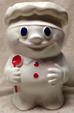 BOBBY THE BAKER vintage McCoy PILLSBURY DOUGH BOY Cookie Jar #183 doughboy