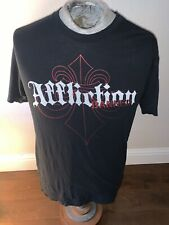 Affliction Banned Men's T-Shirt Sz L 2016 Fedor Vs Sylvia MMA UFC Distressed