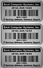 """1000 2"""" x 1"""" asset Tracking Labels Matt Chrome Silver Polyester Stickers ID Tags"""