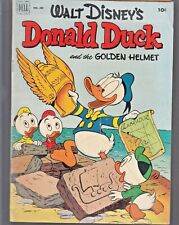 DONALD DUCK -THE GOLDEN HELMET  #408  1952 by CARL BARKS VG+  DELL  4-COLOR