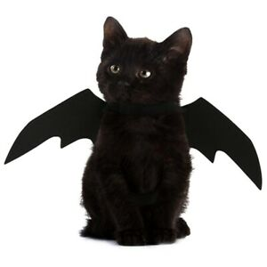 Halloween Costume Cosplay Dress-Up Bat Wings for Small Cat Kitten Puppy Pet Dog