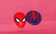 Spider-Man Ultimate Plastic Cupcake Rings,12 ct.,Red/Blue,DecoPac,Food Safe